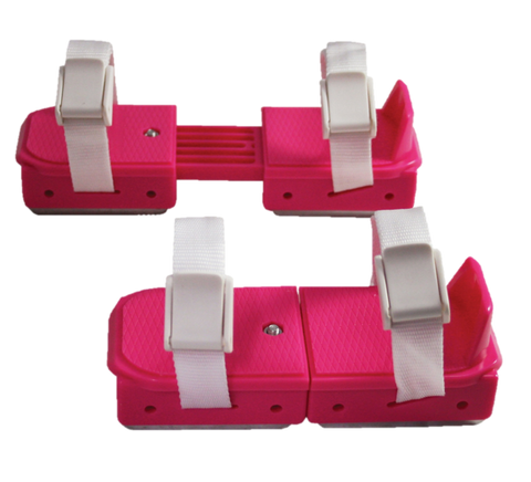 American Little Rocket Pink Adjustable Hockey Skate Double Runner