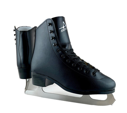 Men's American Leather Lined Figure Skate