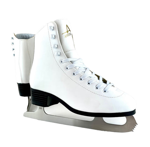 Women's American Leather Lined Figure Skate
