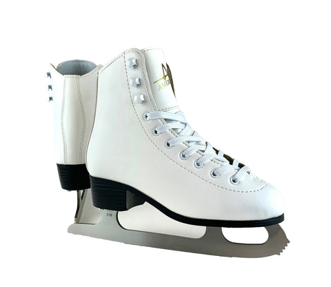 Girl's American Leather Lined Figure Skate