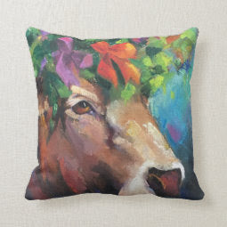 """Bette"" Pillow, 16"" x 16"""