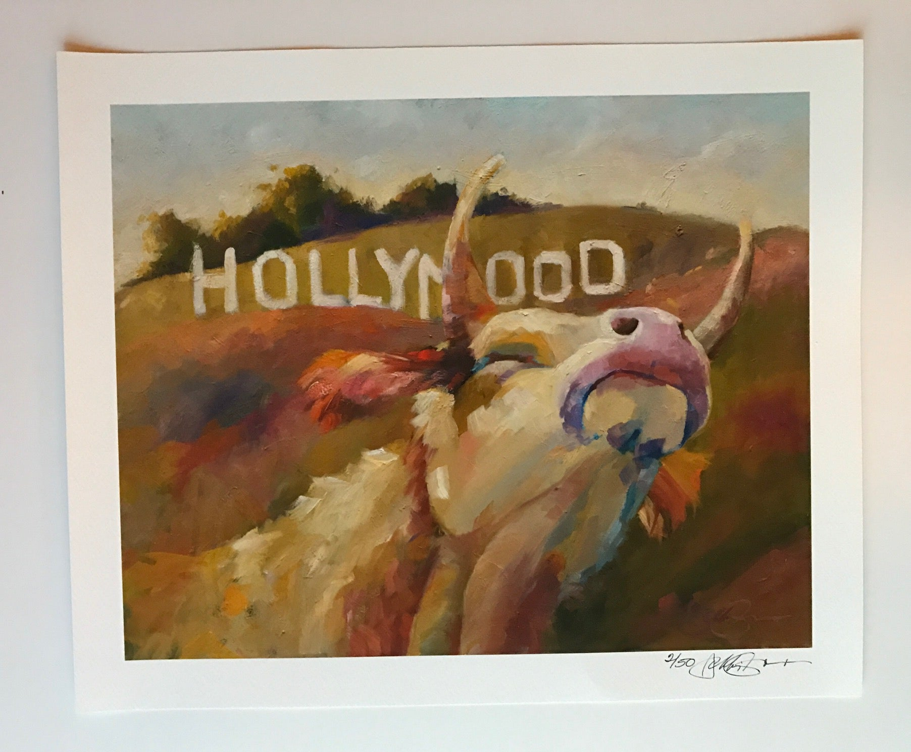 """Hollymood"", 11 x 14 inches"