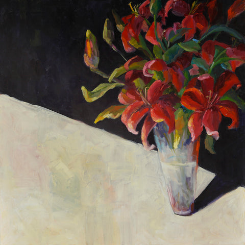 """D's Saturday Bouquet"", 24 x 24 x 2 inches"
