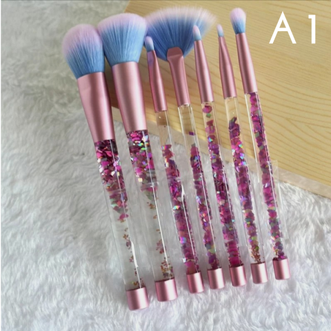 7pcs makeup brushes