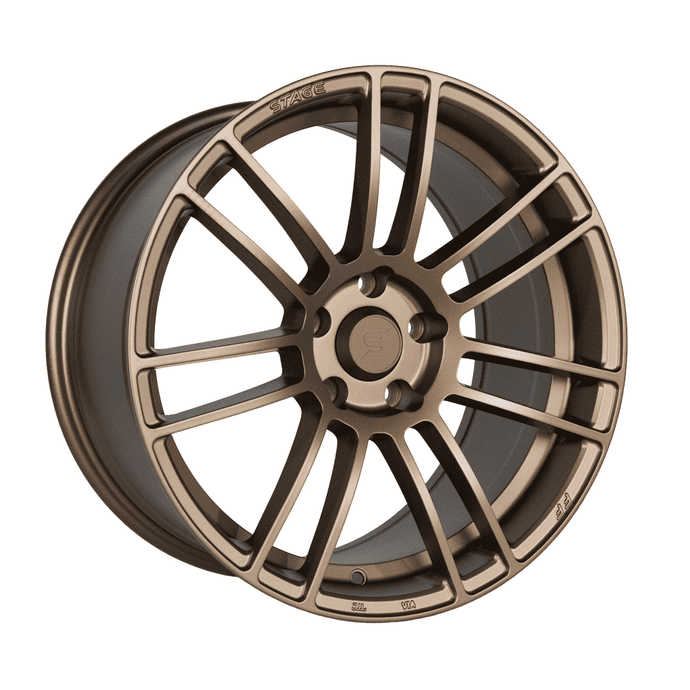 Stage Wheels Belmont 18x8.5 +35mm 5x120 CB: 74.1 Color: Matte Bronze