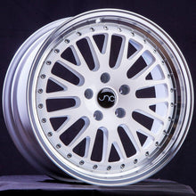 JNC001 | White Machined Lip | 16x9 | 4x100/4x114.3 | +25mm | CB: 73.1