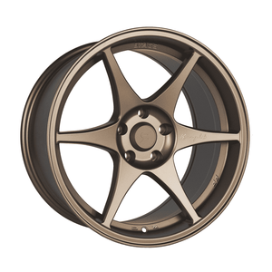 Stage Wheels Knight 18x9.5 +12mm 5x114.3 CB: 73.1 Color: Matte Bronze