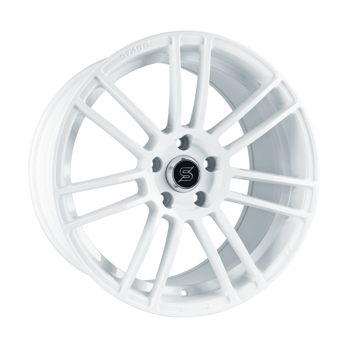 Stage Wheels Belmont 18x8.5 +35mm 5x100 CB: 73.1 Color: White