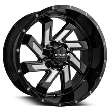 HD Off-Road Wheels Truck & SUV Wheels 20x10.0 | 6x139.7 | -25mm et  | 4.53 in | 106.2mm HD Off-Road Wheels SAW | Milled Face | for 6x139.7 Trucks
