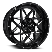 HD Off-Road Wheels Truck & SUV Wheels 20x9.0 | 6x135 | et0mm | 5.0 in | 106.2mm HD Off-Road Caliber Wheels | Black Milled | for 6x135 Trucks