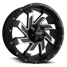 HD Off-Road Wheels Truck & SUV Wheels 20x9.0 | 6x139.7 | 15mm et | 5.6 in | 78.1mm ( COVERED CAP ) HD Off-Road Wheels SAW | Black Machined | for 6x139.7 Trucks