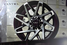 HD Off-Road Wheels Truck & SUV Wheels HD Off-Road Canyon Wheels | Black Machined Face | for 6x135 Trucks