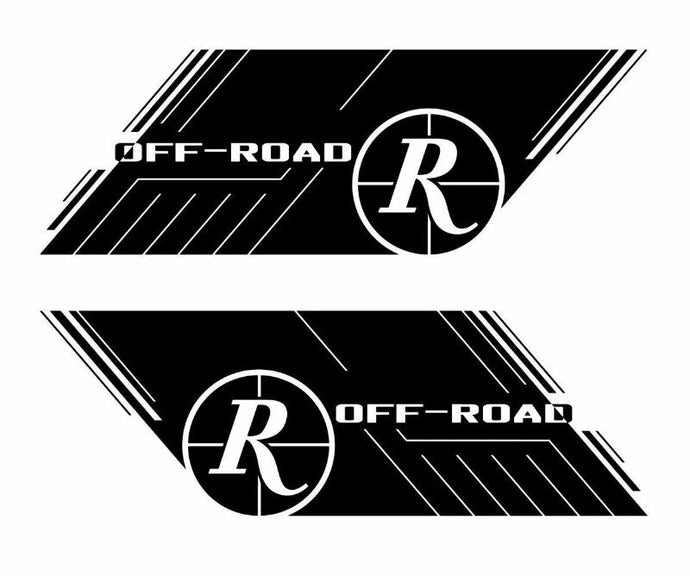 Remington Off-Road Decal Kits Remington Off-Road Die-Cut Decals