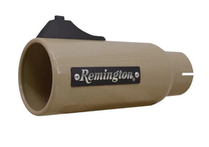 "Remington Off-Road Exhaust Tips 2.5 Inch Inlet / 4.0 Inch Tip / Desert Tan Remington Off-Road Edition ""Open Sight"" Exhaust Tips"