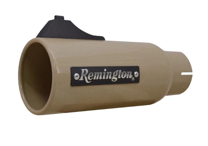 Remington Off-Road Exhaust Tips 2.5 Inch Inlet / 4.0 Inch Tip / Desert Tan Remington Off-Road Edition