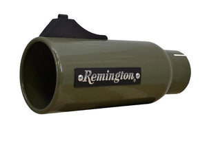 "Remington Off-Road Exhaust Tips 2.5 Inch Inlet / 4.0 Inch Tip / O/D Green Remington Off-Road Edition ""Open Sight"" Exhaust Tips"
