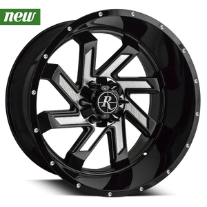 Remington Off-Road Truck & SUV Wheels Remington® Off-Road Wheels SAW | Gloss Black with Milled Face