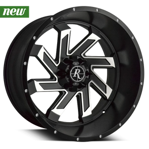 Remington Off-Road Truck & SUV Wheels Remington® Off-Road Wheels SAW | Satin Black with Machined Face