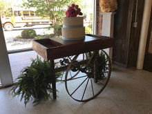 Antique Cart with Cake Display