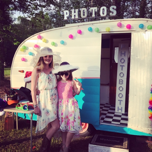 Lucille the Vintage Camper Photo Booth