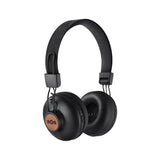 House of Marley Positive Vibration Bluetooth Headphones - Black/Tan