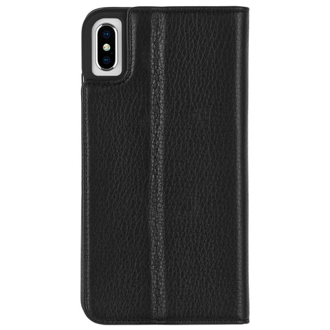 Case-Mate Wallet Folio Minimalist Case - For iPhone Xs Max 6.5""