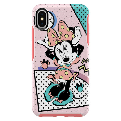 OtterBox Symmetry Disney Classic Case - For iPhone Xs Max - Rad Minnie