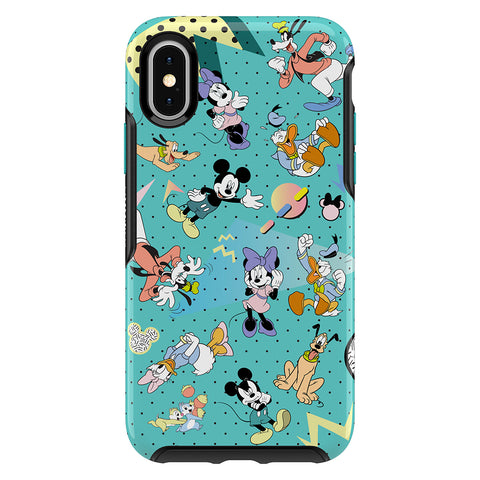 OtterBox Symmetry Disney Classic Case - For iPhone X/Xs - Rad Friends