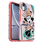 OtterBox Symmetry Disney Classic Case - For iPhone XR - Rad Minnie