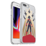 OtterBox Symmetry Marvel Case - For iPhone 7 Plus/8 Plus - Captain Marvel