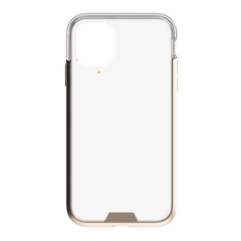 EFM Verona D3O Crystalex Case Armour  - For iPhone 11 Pro Max - Crystal / Gold