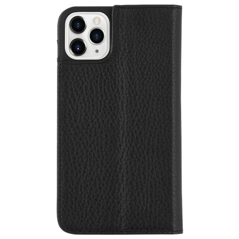 Case-Mate Wallet Folio Case - For iPhone 11 Pro - Black