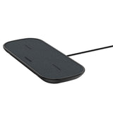 Mophie Dual Wireless Charging Pad - Fabric Universal Wireless Charger