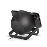 Belkin BOOSTCHARGE 10W Wireless Charging Stand and Speaker - Universally compatible - Black