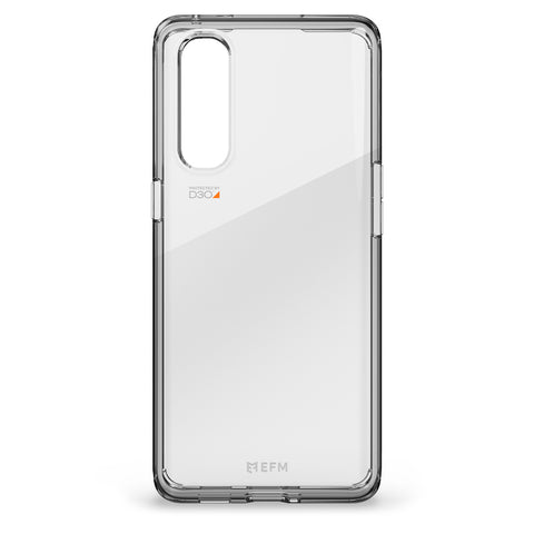 EFM Alta Case Armour with D3O Crystalex - For Oppo Find X2 Pro - Crystal Clear