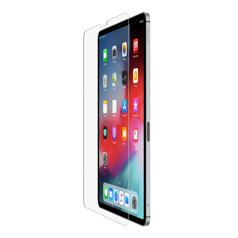 "Belkin SCREENFORCE Tempered Glass Screen Protector - For Apple iPad Pro 12.9"" - Clear"