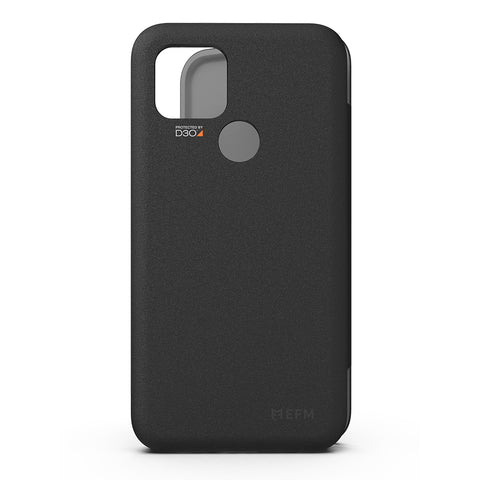 "EFM Miami Wallet Case Armour with D3O - ""For Google Pixel 4A"" - Smoke Black"""