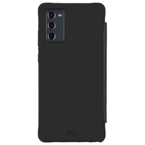 "Case-Mate Wallet Folio - Black - For Galaxy Note20 (6.7"")"