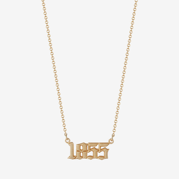 *new* 1855 Nameplate Necklace