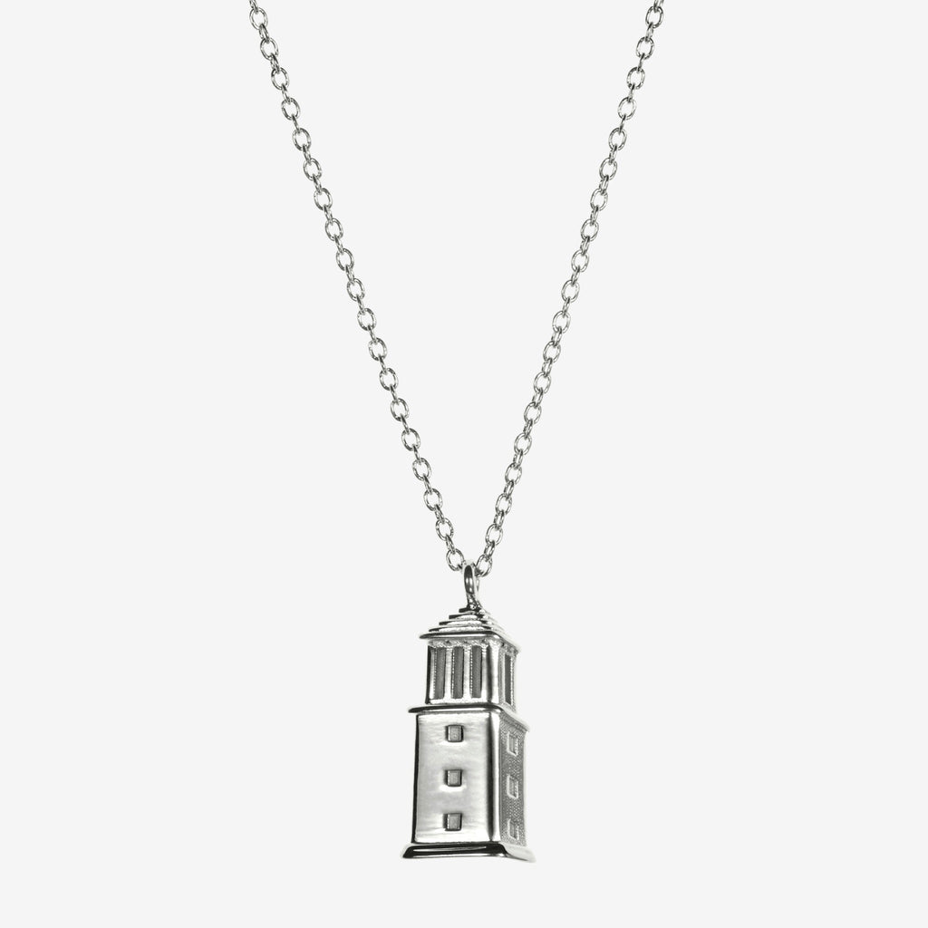 Silver Alabama Denny Chimes Necklace