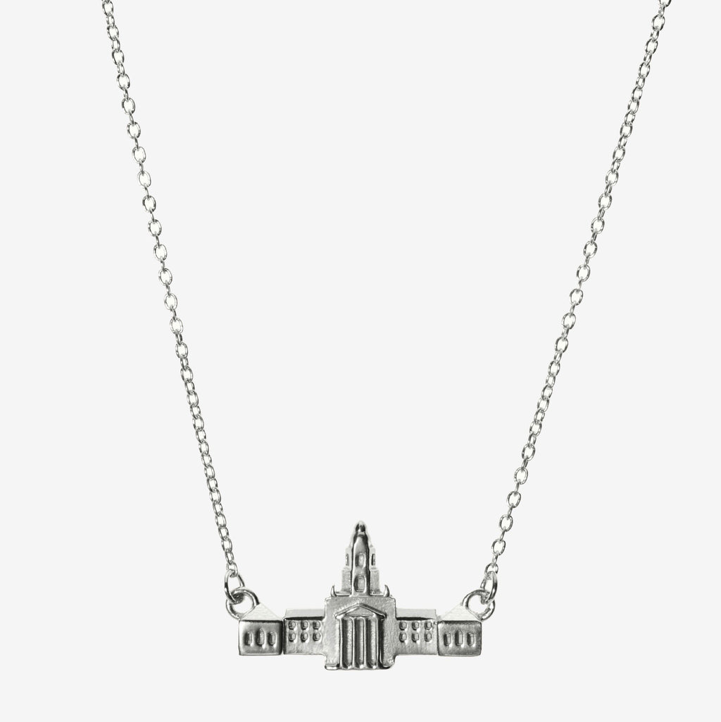 Silver Baylor Pat Neff Necklace