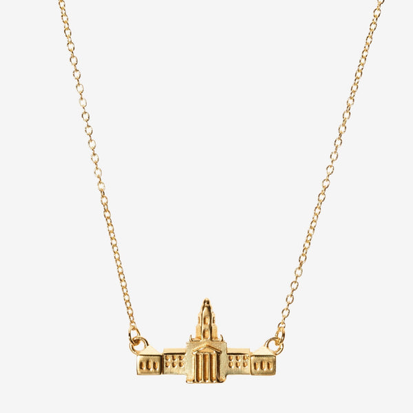 Gold Baylor Pat Neff Necklace