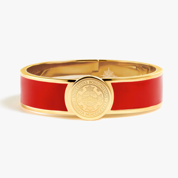 Boston University Enamel Bracelet