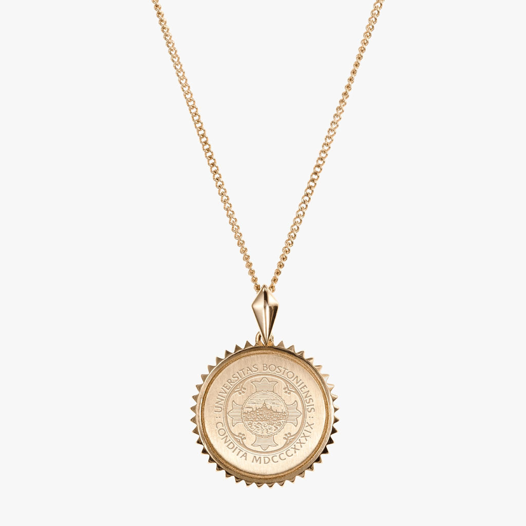 BU Sunburst Necklace Gold