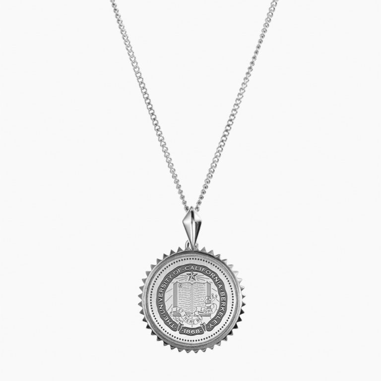 Silver Berkeley Sunburst Necklace