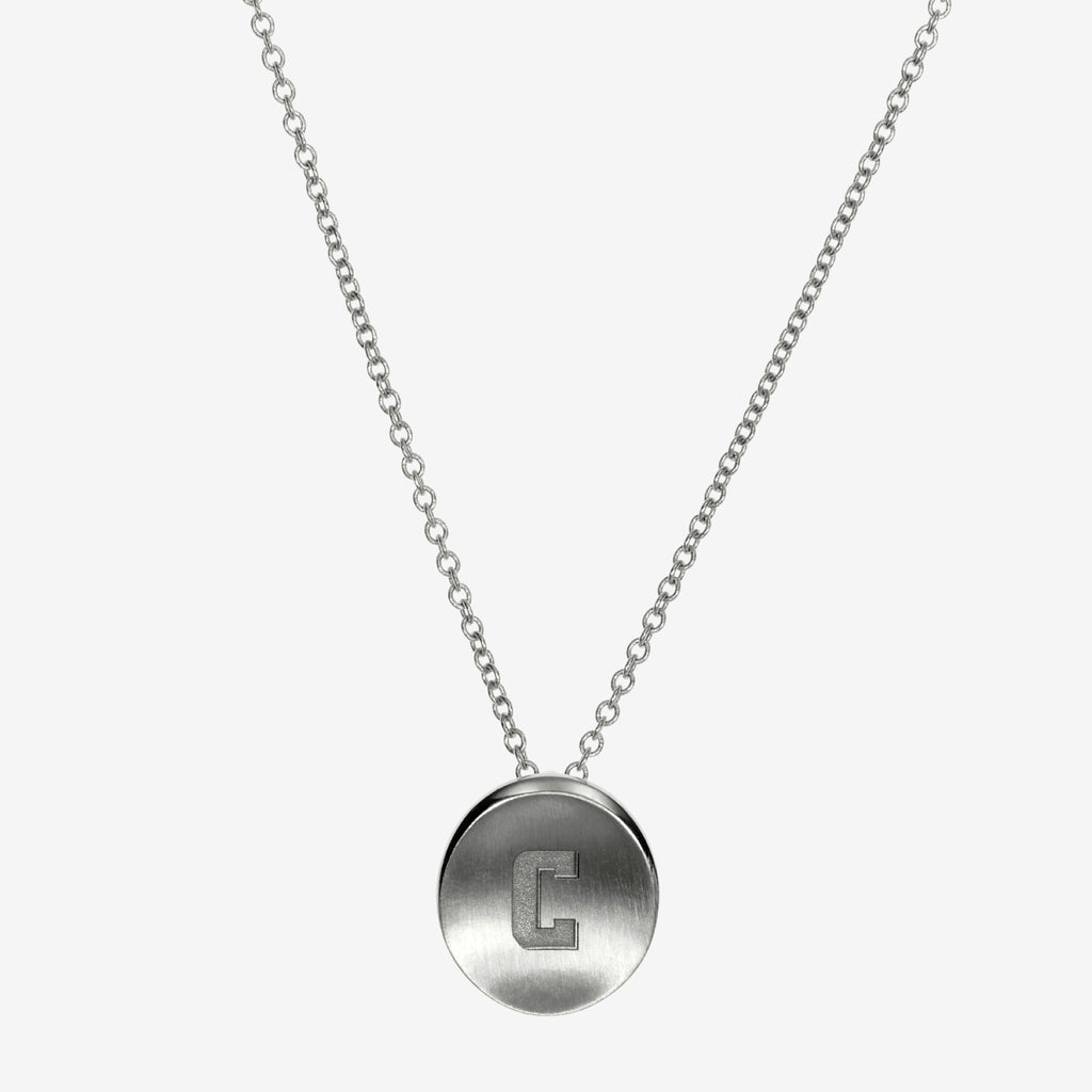 Silver Columbia C Necklace