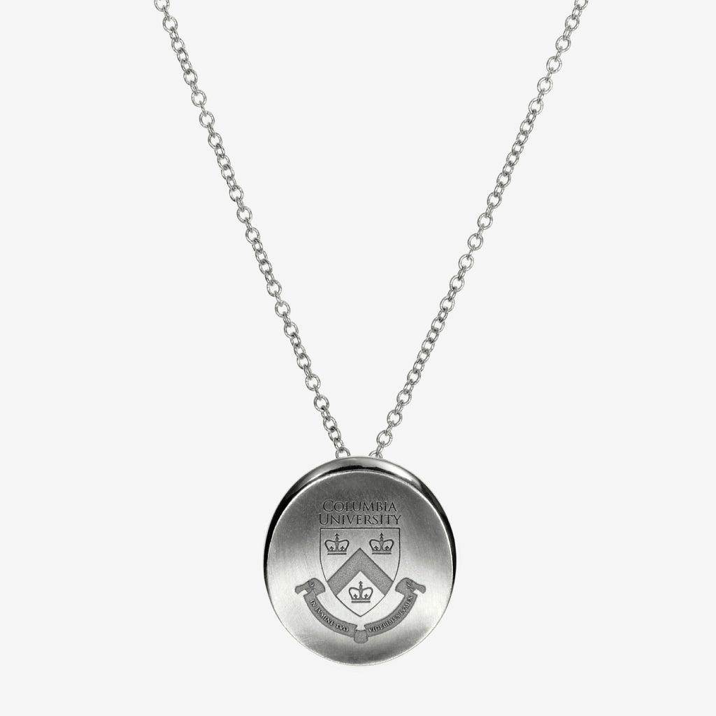 Silver Columbia Organic Crest Necklace