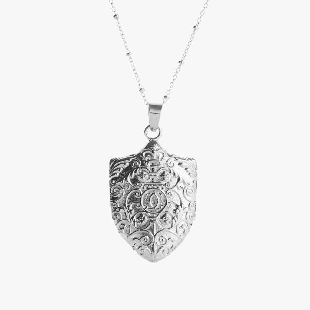 Silver Columbia Gates Necklace