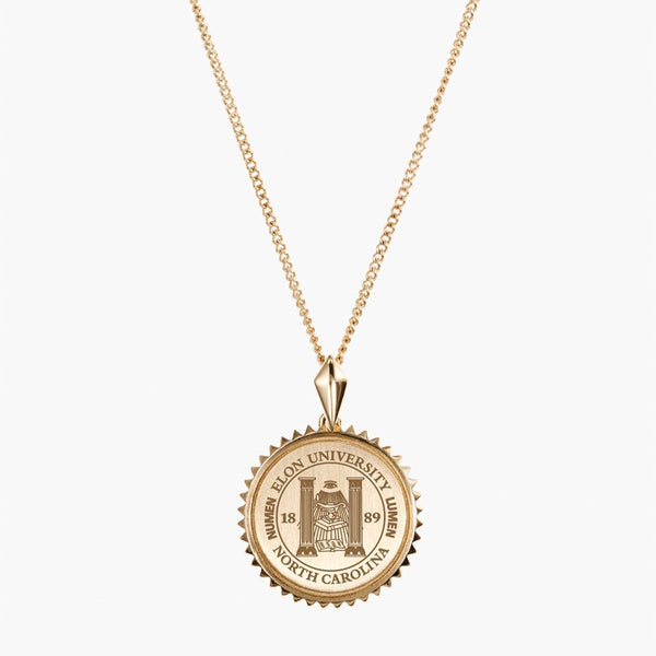 Gold Elon Sunburst Necklace