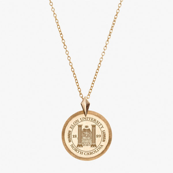 Gold Elon Florentine Necklace Petite
